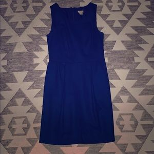 Classy blue J. Crew dress size 0